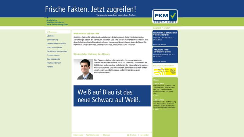 Zertifizierung von Messezahlen wird Qualitätssiegel – FKM