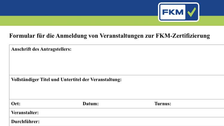 FKM-Zertifizierung