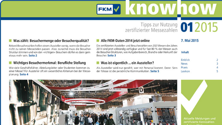 FKM knowhow 2015/1