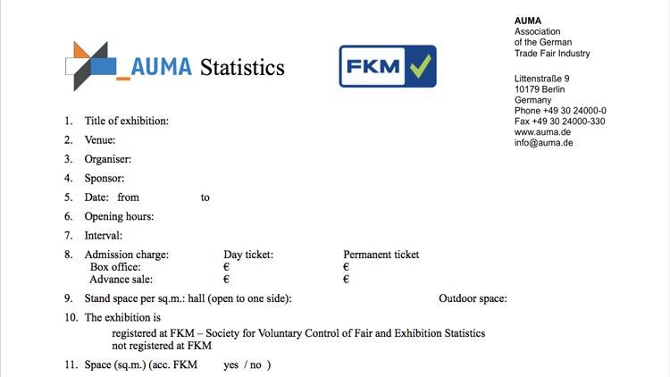 FKM Statistics