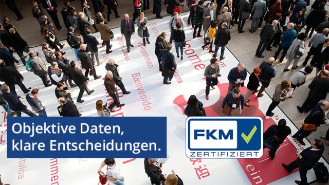 FKM - Objektive Daten, klare Entscheidungen / Foto © Messe Düsseldorf