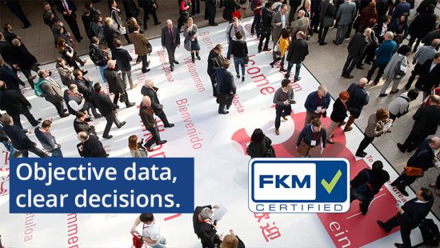 FKM: Objective data,  clear decisions / © Messe Düsseldorf