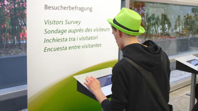 Besucherbefragung bei der Intermot 2018 (koelnmesse)