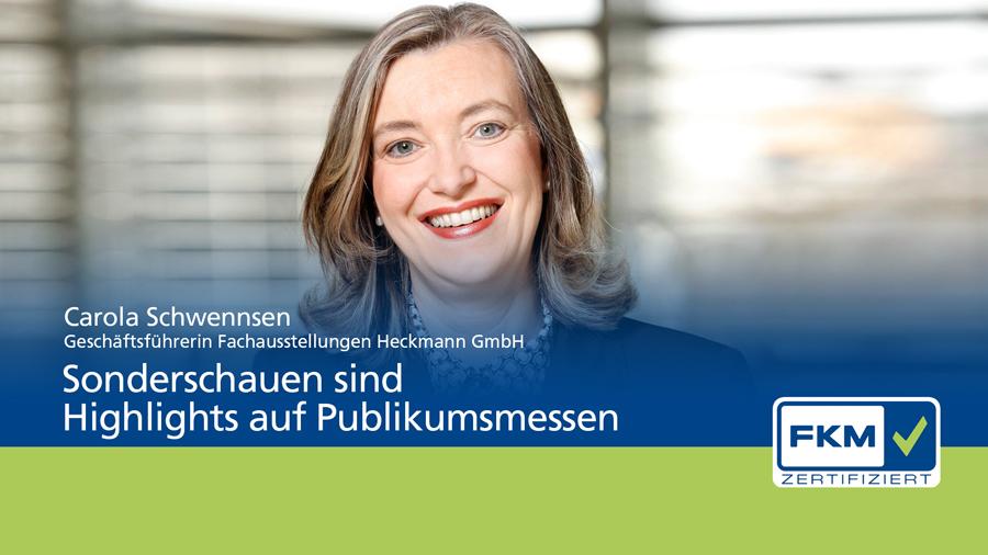 FKM, Carola Schwennsen, Statement, Sonderschauen